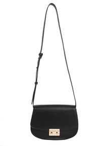 Black Saddle Bag