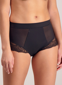 Black 'Secret Shaping' Sculpting Knickers