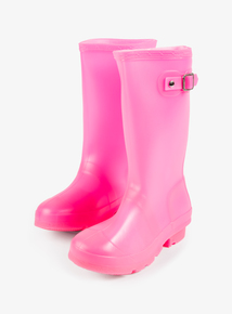 Bright Pink Wellies (10 Infant - 2 Child)