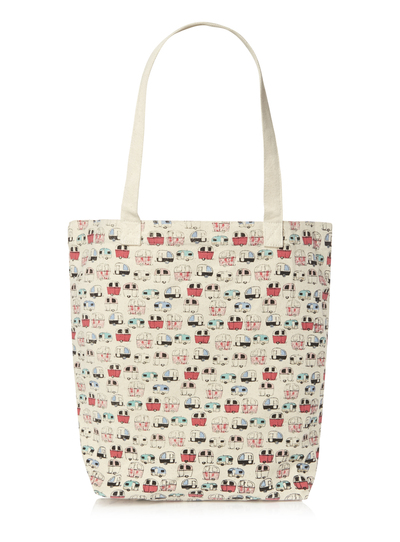 Womens Multicoloured Caravan Canvas Bag | Tu clothing