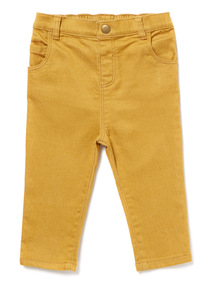 Yellow Twill Trousers (0-24 months)