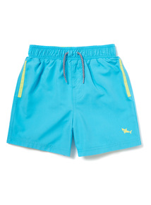 Blue Woven Swim Shorts (18 months-14 years)