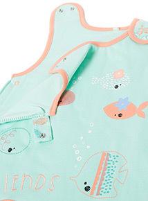 Green Sea Friends 1.5 Tog Sleep Bag (0-24 months)