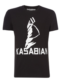 Black Kasabian Trial Tee