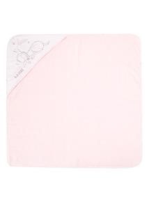Pink Disney Bambi Towel (0-24 months)