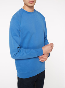 Cobalt Blue Fleece Sweat
