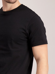 Black Crew Neck T-Shirt