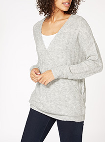 Ballet-Wrap Jumper