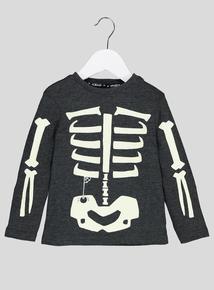 Halloween Skeleton T-Shirt (9 Months-6 Years)