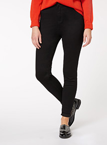Black High Waist Skinny Jean