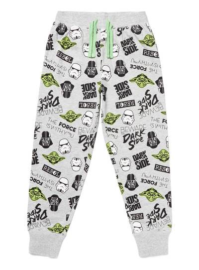 Grey Disney Star Wars Joggers (3-14 years)