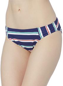 Multi Stripe Bikini Briefs