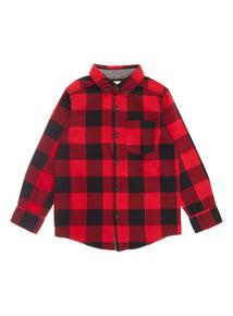 Red Check Shirt (3-14 years)
