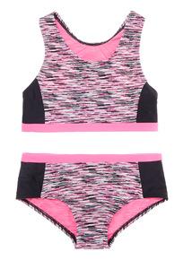 Multicoloured Space Dye Sports Bikini (5 - 14 years)