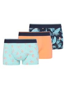 Flamingo Pattern Hipsters 3 Pack