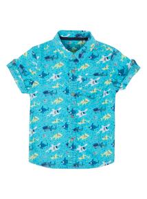 Boys Fish Print Shirt (9 months-5 years)