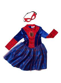 Multicoloured Spidergirl Disney Costume (2 - 10 years)