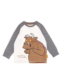 Multicoloured Gruffalo Embroidered Tee (9 months-6 years)