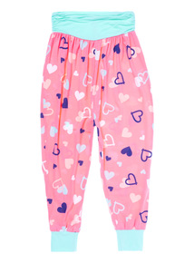 Mix and Match Multicoloured Neon Heart Hareems (3 - 12 years)