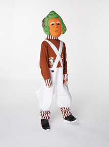 Multicoloured Oompa Loompa Costume (3-10 years)