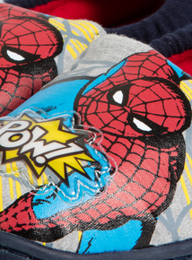 Online Exclusive Spiderman Light Up Slippers (Infant 7 to Child 1)