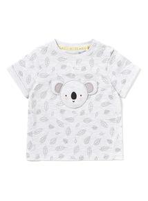Grey Koala T-shirt (0-24 months)