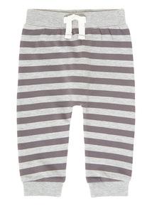 Grey Stripe Jogger (0-24 months)