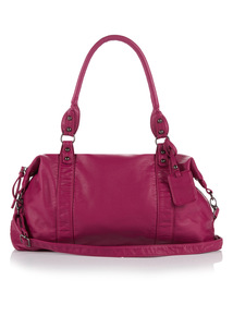 Purple Energie Washed Bag