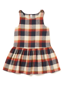 Multicoloured Check Pinafore (9 months-6 years)