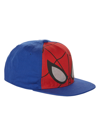 Kids Boys Multicoloured Spiderman Flat Peak Cap (3-12 years)  4dd63a37b64