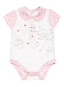 Pink Disney Bambi Bodysuit (0 - 12 months)