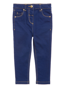 Girls Denim Skinny Jeans (9 months-5 years)