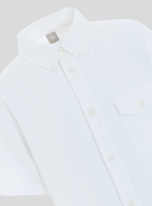 Collared Short Sleeve Shirt