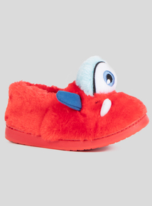 Red & Blue Monster Slippers