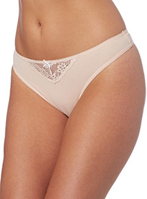 Lace Trim Thongs 5 Pack