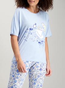da16e1594e Disney Alice In Wonderland Blue Pyjamas