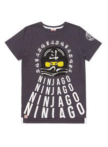 Charcoal Lego Ninjago T-Shirt (3-12 years)