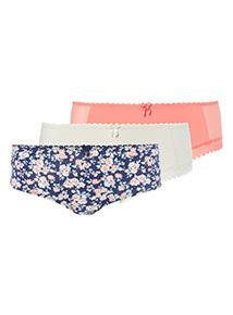 3 Pack Ditsy Floral Short