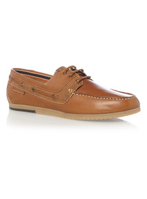 Tan Deck Shoes