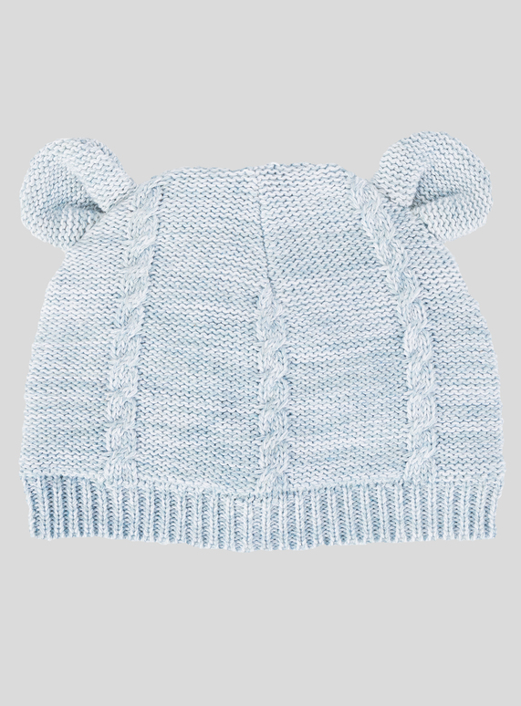 Baby Blue Cable Knit Hat (0- 2 Years)  b6add00f962