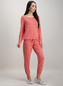 c6efceeaf0 Coral Pink Pyjama Set