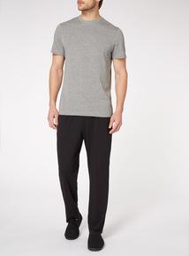 Grey T-Shirt And Black Trousers Pyjamas