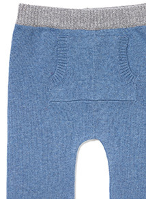 Blue Planes Jumper and Joggers Knitted Set (0-24 months)