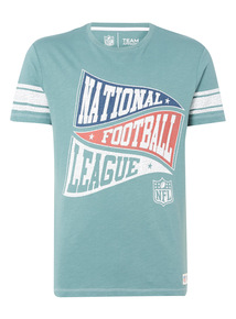 Green NFL Vintage Flag Tee