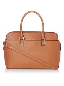 Tan Multi Compartment Bag