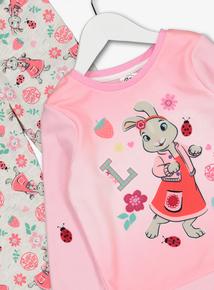 Peter Rabbit Pink Lily Bobtail Pyjamas (1 -5 Years)
