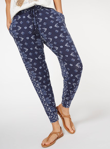 Bohemian Floral Printed Trousers