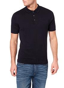 Navy Short Sleeve Polo