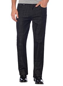 Black Wash Bootcut Stretch Denim Jeans