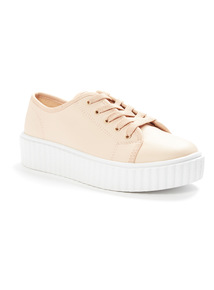 Nude Cleated Cupsole Shoes